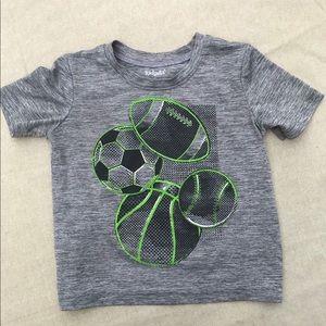 Toddler boy shortsleeve shirt